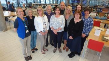 Happy staff & volunteers