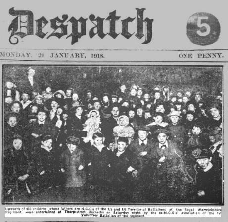 400-children-of-servicemen-entertained-evening-despatch-monday-21-january-1918